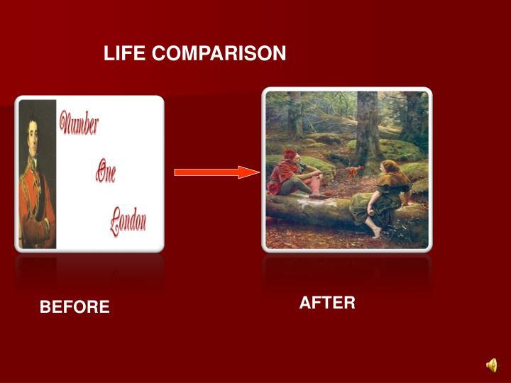 LIFE COMPARISON