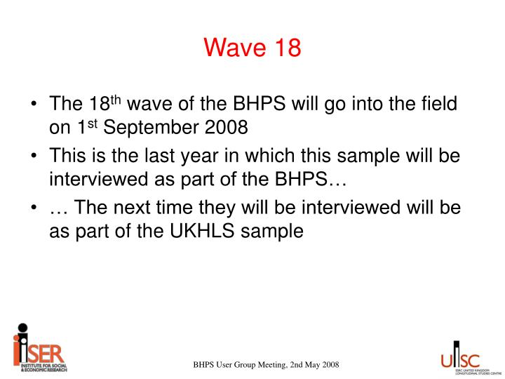 Wave 18