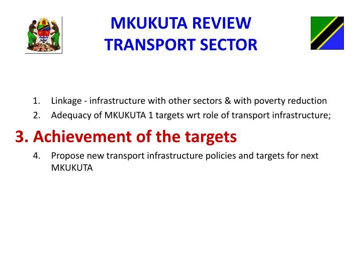 MKUKUTA REVIEW