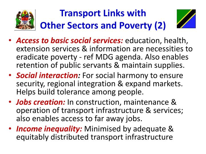 Transport Links with