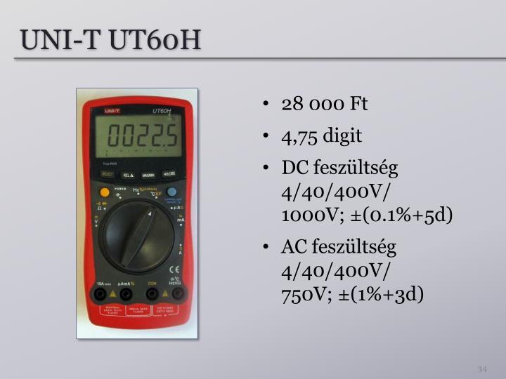 UNI-T UT60H