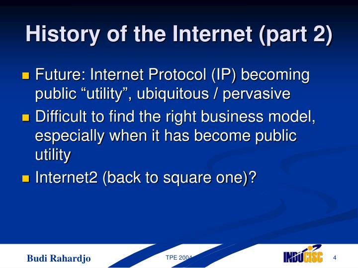 History of the Internet (part 2)