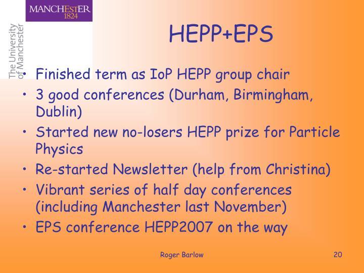 HEPP+EPS