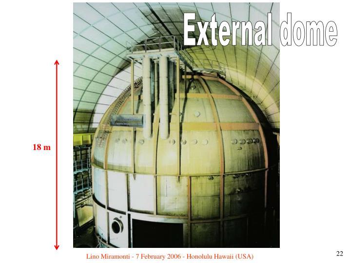 External dome