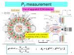 p t measurement