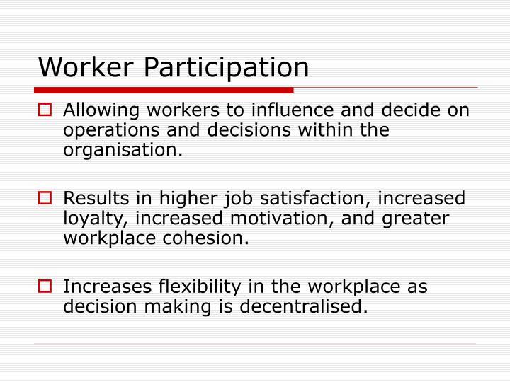 Worker Participation