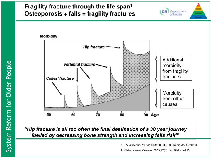 Fragility fracture through the life span