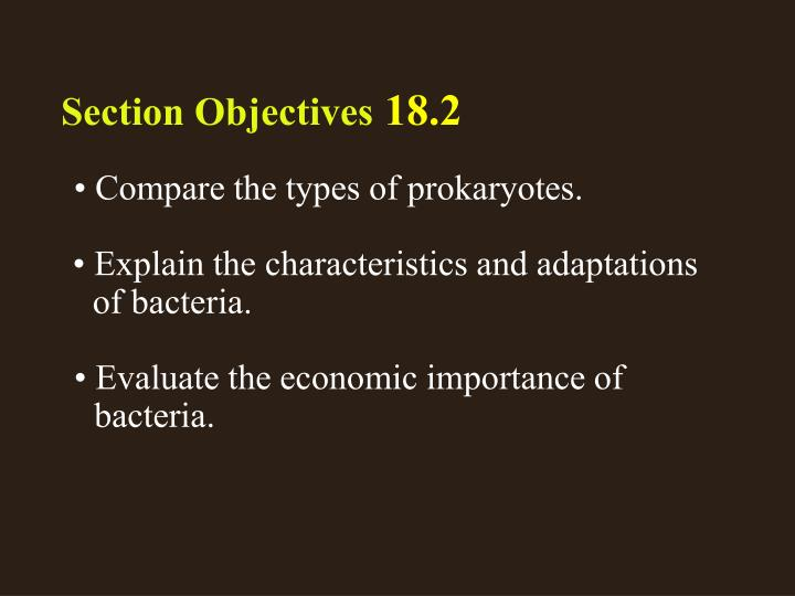 Section 2 Objectives – page 484