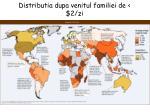 distributia dupa venitul familiei de 2 zi