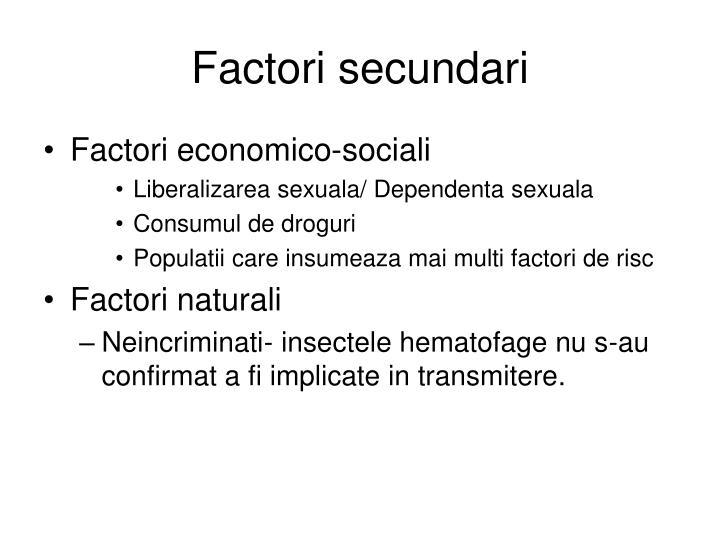 Factori secundari