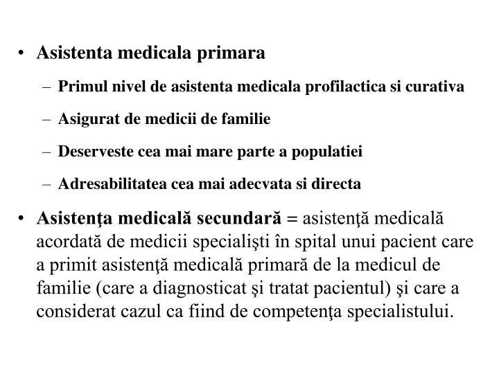 Asistenta medicala primara