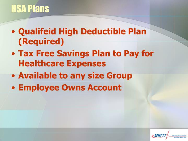HSA Plans