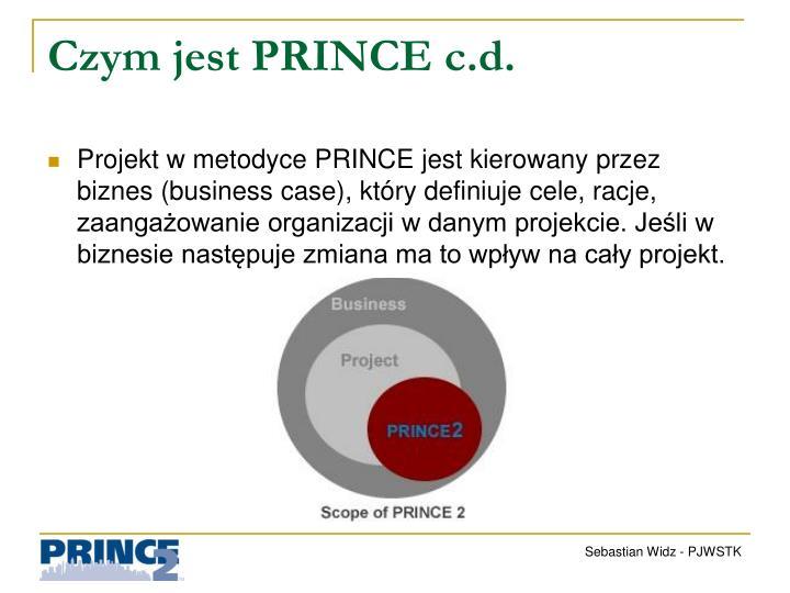Czym jest PRINCE c.d.