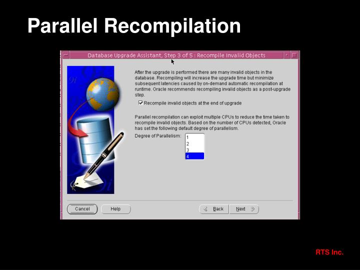 Parallel Recompilation