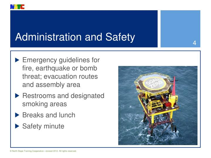 Administration and Safety