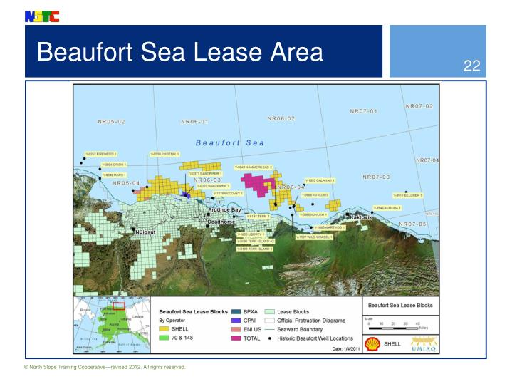 Beaufort Sea Lease Area