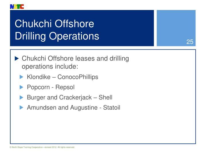 Chukchi Offshore