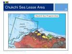 chukchi sea lease area
