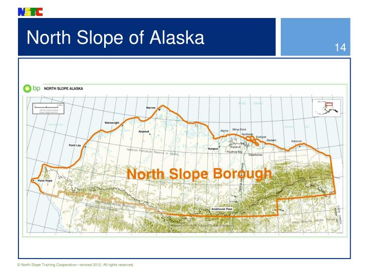 North Slope of Alaska