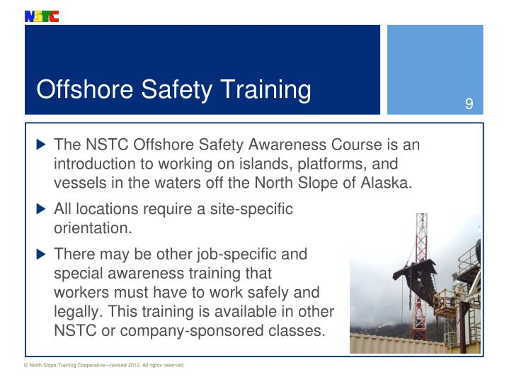 Offshore Safety Training