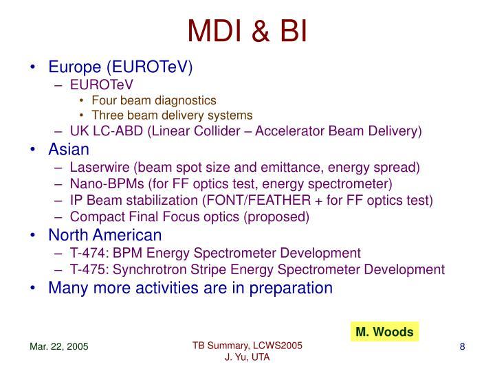 MDI & BI