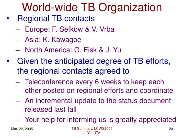 World-wide TB Organization
