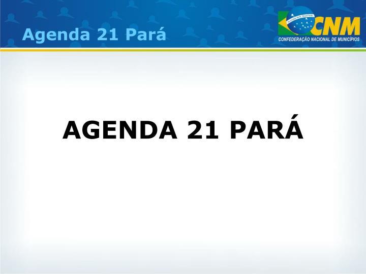 Agenda 21 Pará
