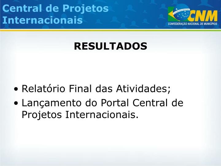 Central de Projetos