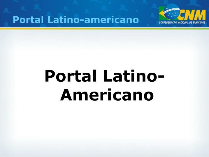 Portal Latino-americano