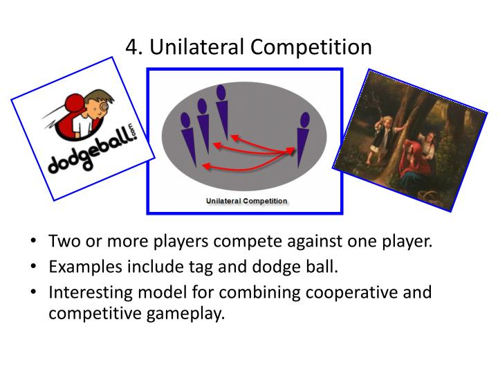 4. Unilateral Competition
