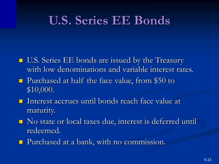 U.S. Series EE Bonds