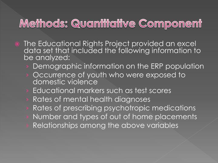 Methods: