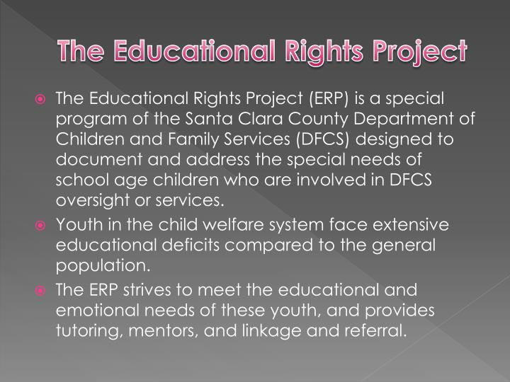The Educational Rights Project
