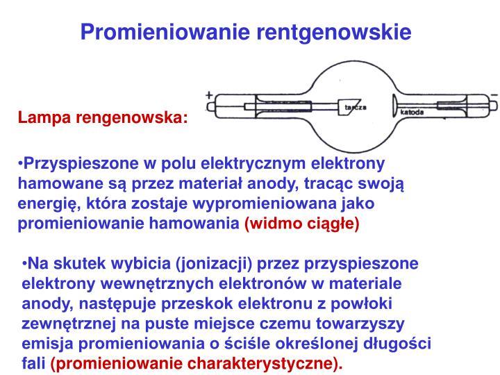 Lampa rengenowska:
