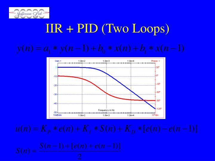 IIR + PID (Two Loops)