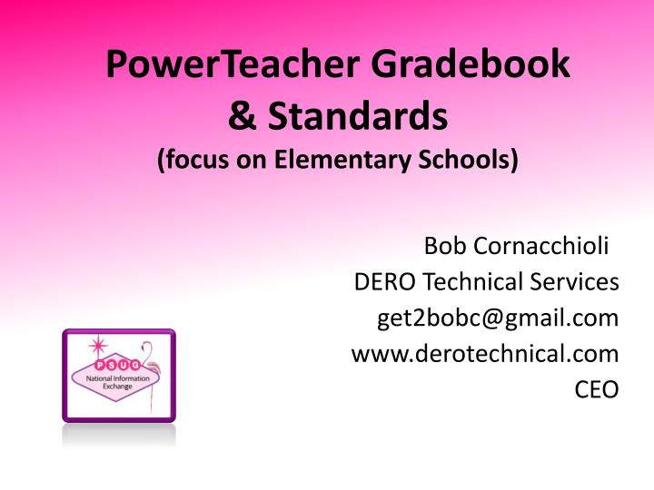 PowerTeacher Gradebook