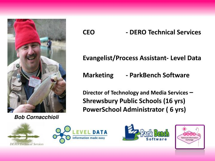 CEO - DERO Technical Services