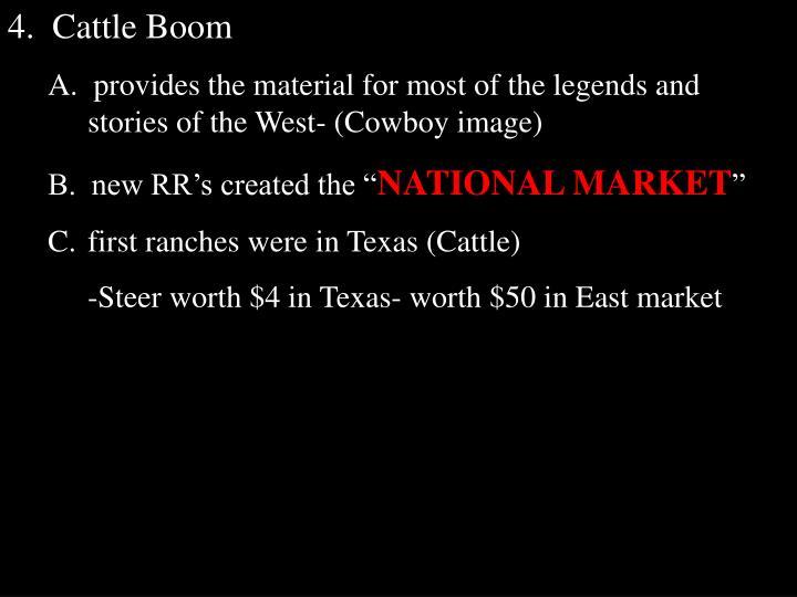 4.  Cattle Boom