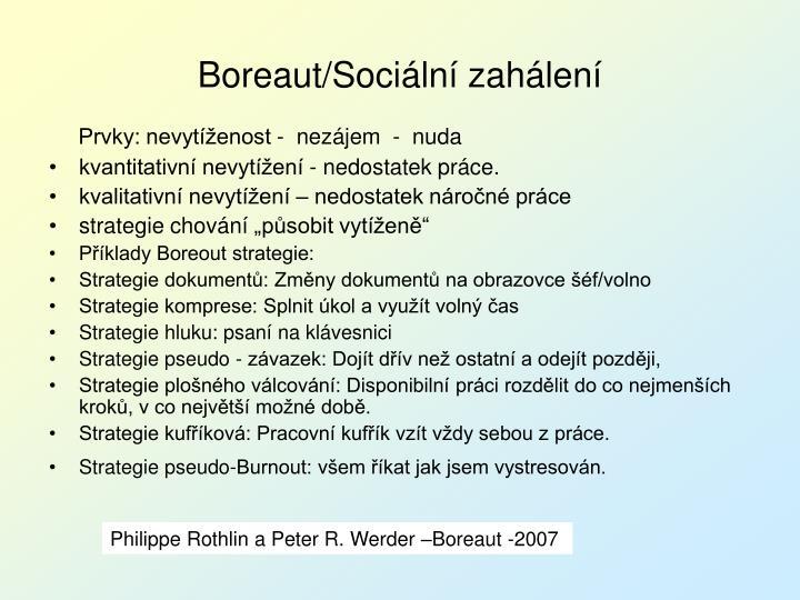 Boreaut/Sociální zahálení