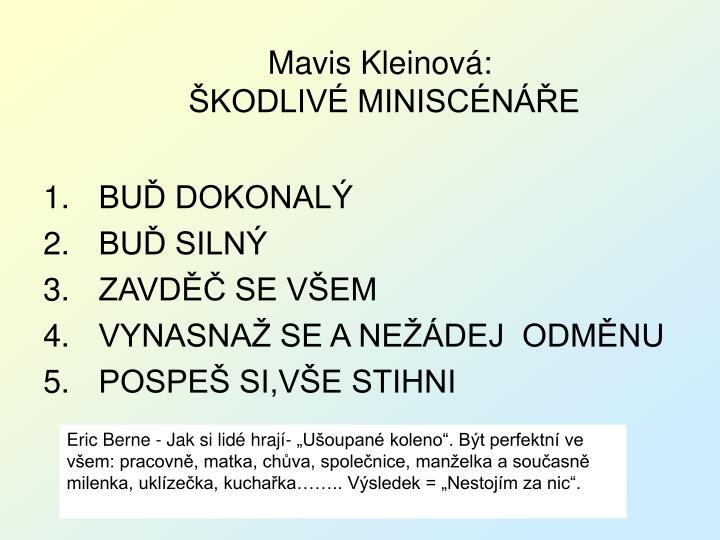 Mavis Kleinová: