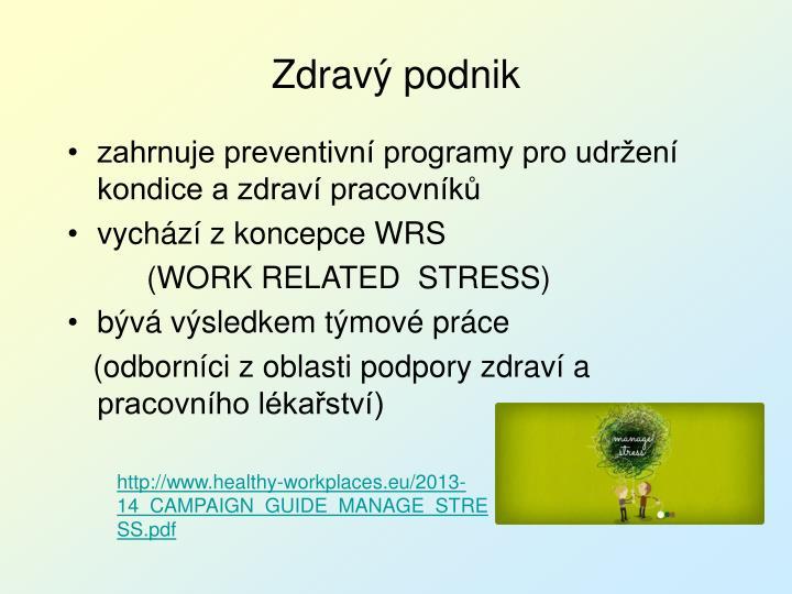 Zdravý podnik