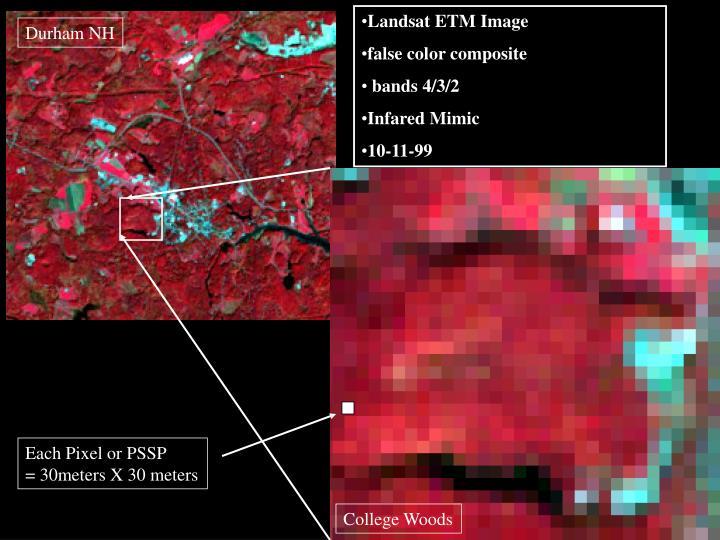 Landsat ETM Image