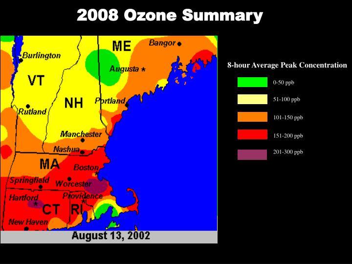 2008 Ozone Summary