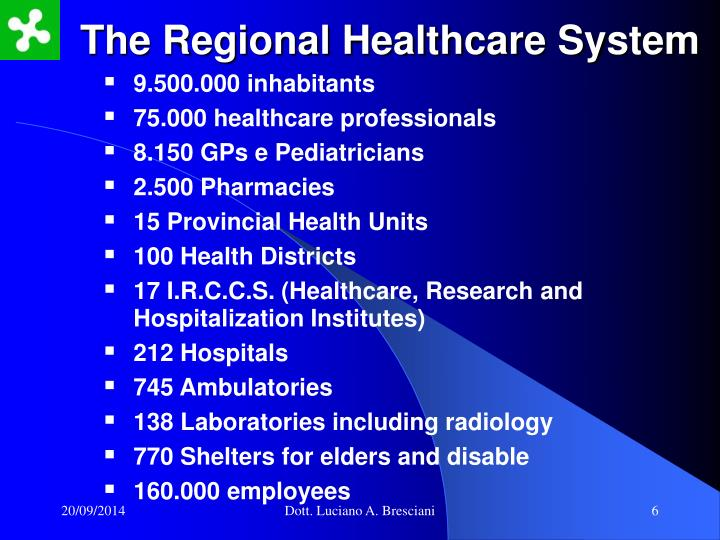 The Regional Healthcare System