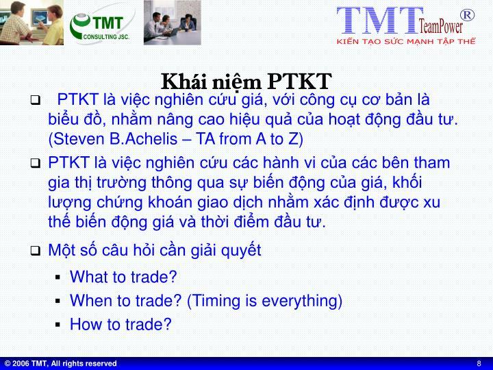 Khái niệm PTKT