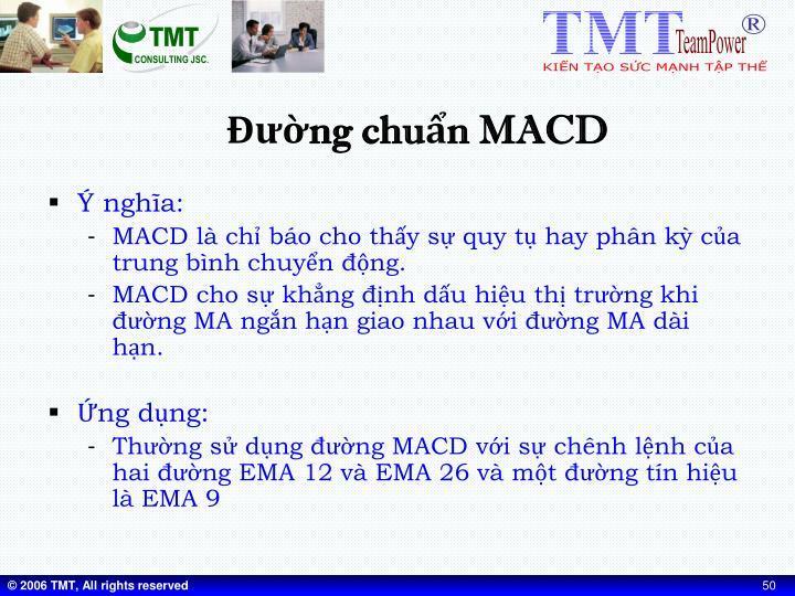 Đường chuẩn MACD
