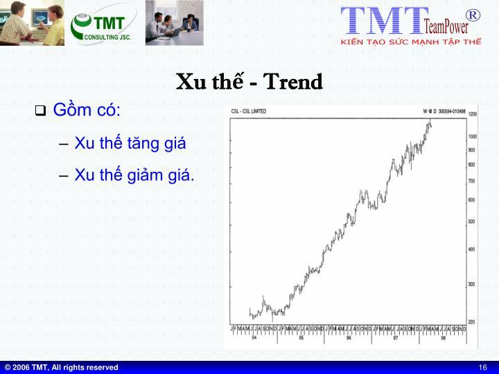 Xu thế - Trend