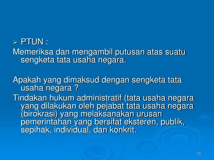 PTUN :
