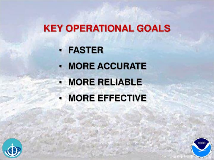 KEY OPERATIONAL GOALS