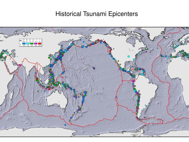 Historical Tsunami Epicenters